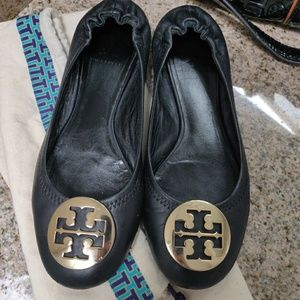 SALE💥Tory Burch Reva Black Flats